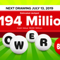 Powerball numbers: A single ticket wins Saturday's $194 million lottery jackpot