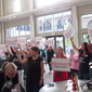 Dozens attend Women for Trump rally in Cuyahoga Falls, including some men